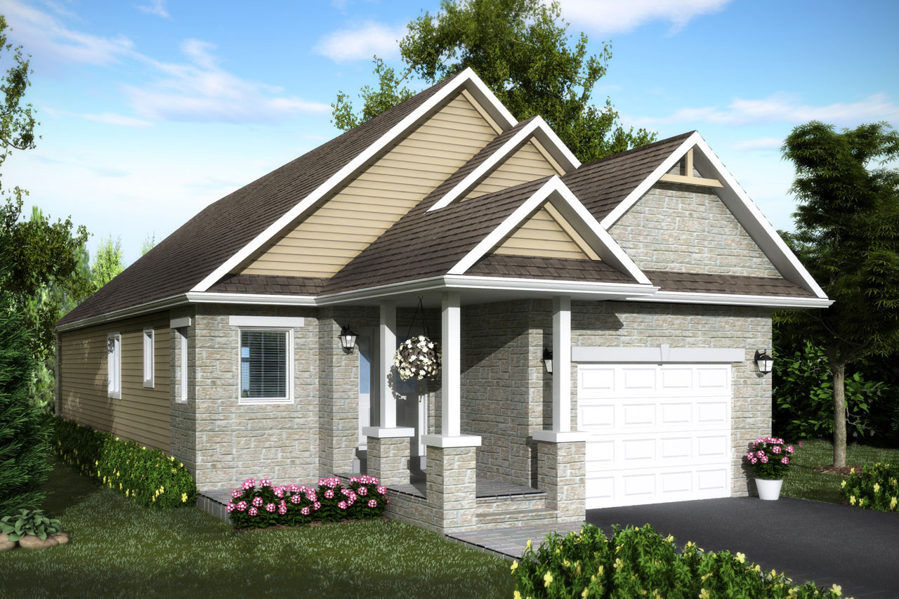 Bungalows and bungalofts at silver beach haliburton ontario for Beach house plans 1200 sq ft